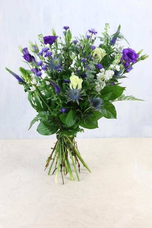 Purple Magestic - a seasonal collection of purple and white flowers