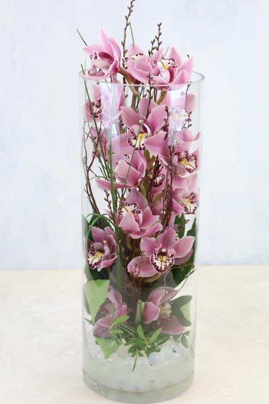Orchid Vase A Contemporary Long Lasting Vase Arrangement