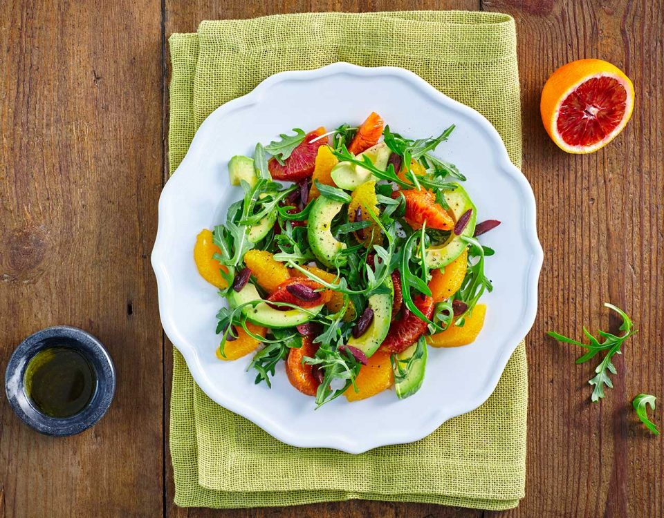 Avocado & Pink Grapefruit Salad